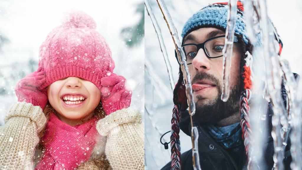 Dieses Wochenende werden die Temperaturen zum Festfrieren kalt.