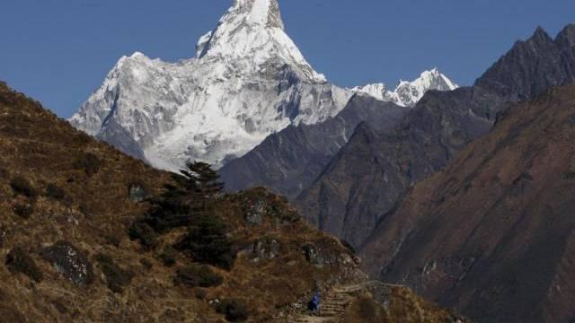 Mount Ama Dablam: Hier wurden 2 Schweizer aus einer Lawine gerettet