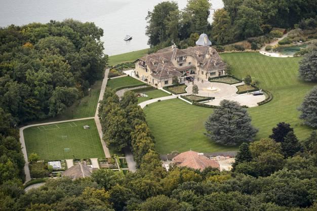 Das Anwesen von Michael Schumacher und seiner Familie in Gland am Genfersee: Seit 2014 befindet sich der frühere Formel-1-Star zu Hause in der medizinischen Rehabilitation.