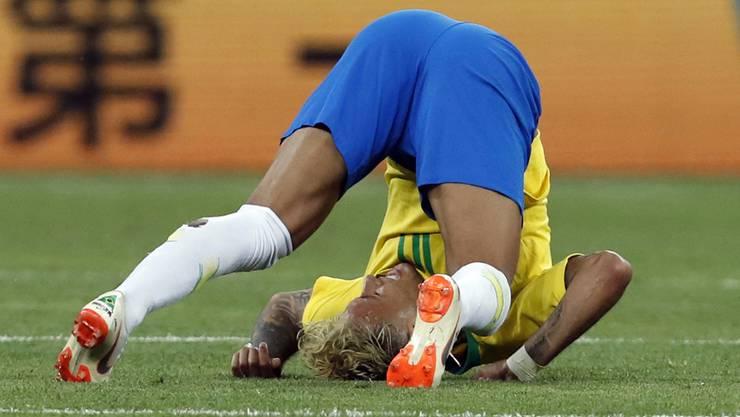 Neymar fiel an der WM in Russland vor allem durch Schauspieleinlagen auf.