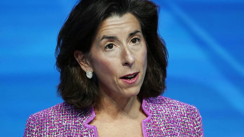 US-Senat bestätigt Bidens Handelsministerin Gina Raimondo