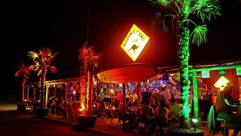 Der Unfall passierte in der Boomerang Bar in Rapperswil-Jona.
