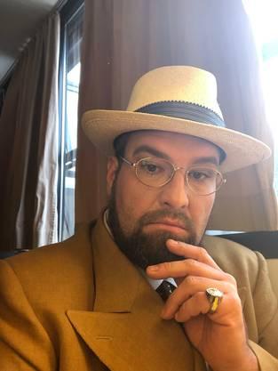 Hauenstein als Dr. Bartolo in Nozze di Figaro im Juni 2019 am Opernhaus