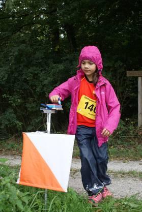 Motivierte Teilnehmer trotz Regenwetter