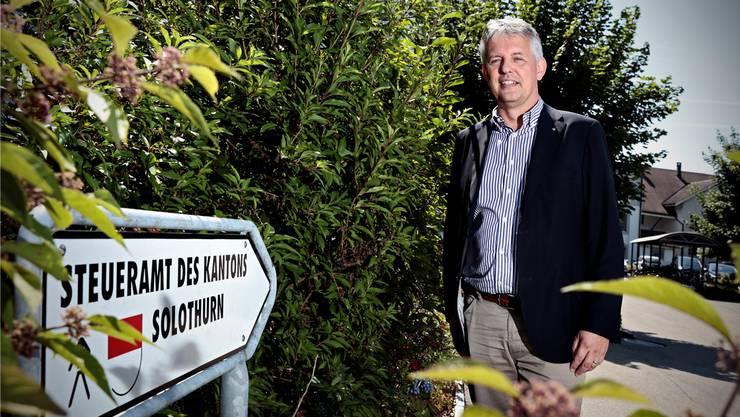 Ein Bild aus vergangenen Zeiten. Am letzten Samstag musste Marcel Gehrig seinen Posten als Chef des kantonalen Steueramtes räumen.