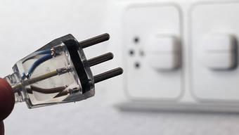 Die AEW hat während der Coronakrise gegen zehn Prozent weniger Strom verkauft. (Symbolbild)