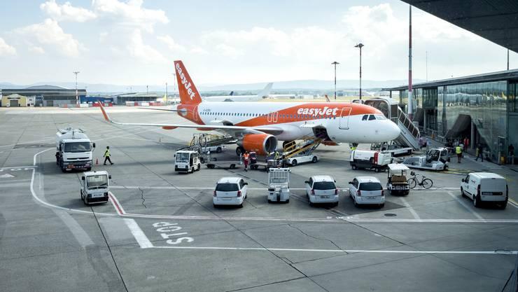 Mit 9,1 Millionen Passagieren erreichte der Euro-Airport 2019 einen neuen Rekord. (Archivbild)