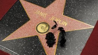 Die Sängerin Janis Joplin wird posthum mit Hollywood-Stern geehrt