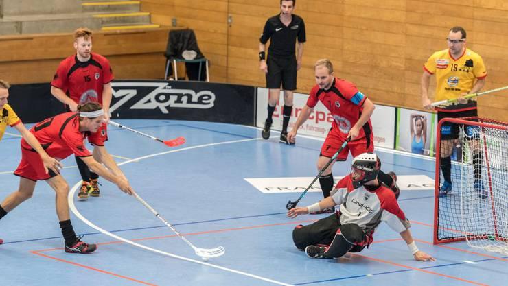 """Spielte bis zu seiner Verletzung stark auf: Philipp """"Fige"""" Merki (am Ball) (Foto Fabio Baranzini)."""