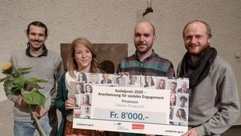 1. Preis Verein Prozessor Aarau