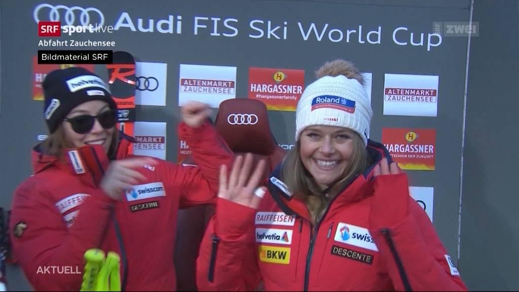 Schweizer Skifahrerinnen im Verletzungspech