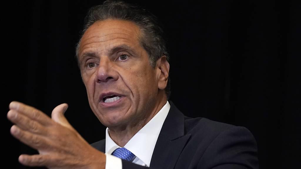 New Yorks Gouverneur Cuomo hat Frauen sexuell belästigt