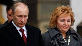 Wladimir Putin und Ex-Frau Ljudmila