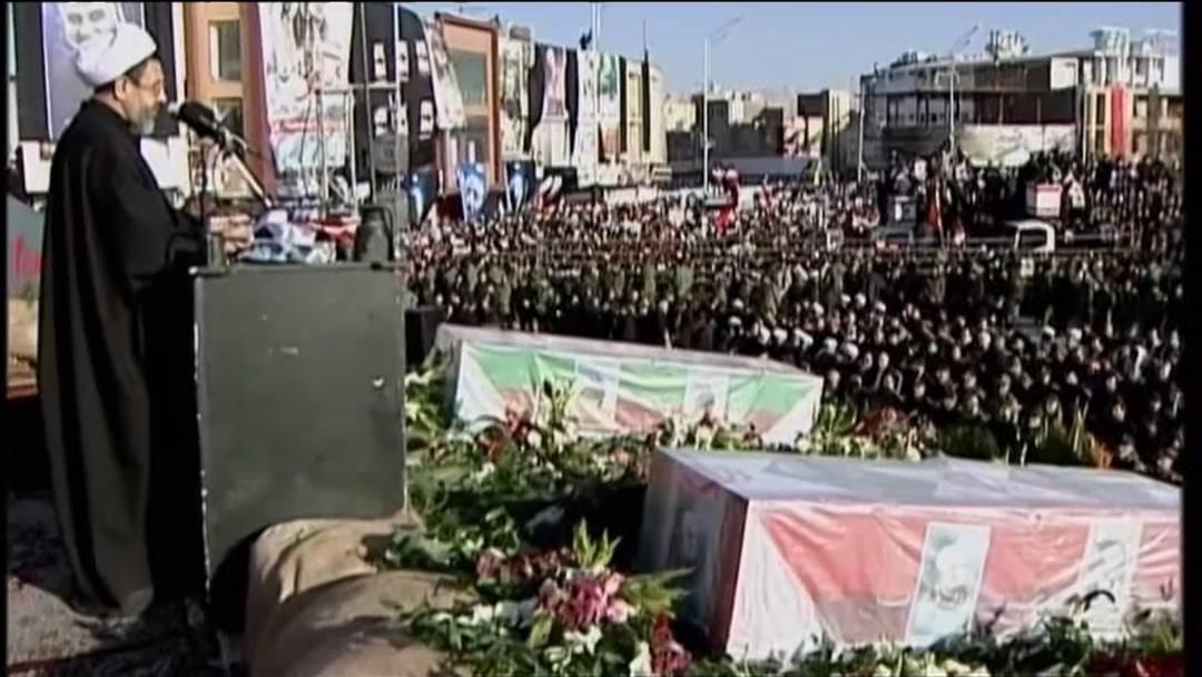 Trauerzeremonie: Soleimanis Tod eint den Iran