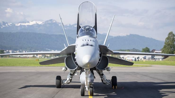 Der Kampfjet-Kauf wurde mit 8670 Stimmen Vorsprung angenommen.
