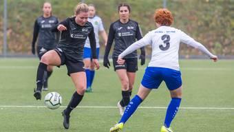 Die FC Aarau Frauen wollen am Mittwoch gegen St. Gallen gewinnen