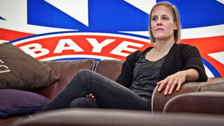Vanessa Bürki, hier in München im Trainingszentrum der Bayern, ist sich noch nicht sicher, wo sie ihre Karriere fortsetzen wird.