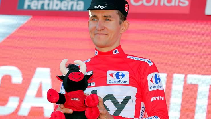 Michal Kwiatkowski - weiterhin Leader der Vuelta