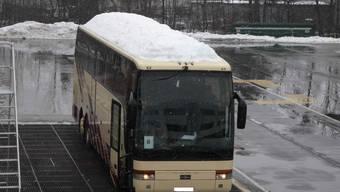 Kapo kontrollierte Reisecar