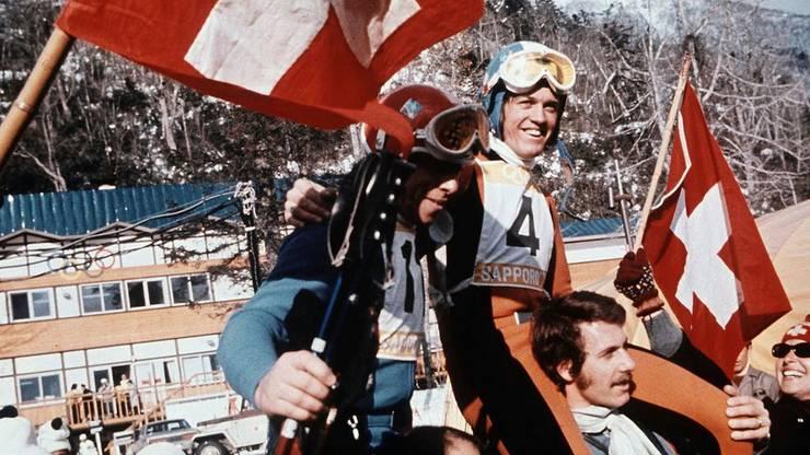 Die Schweiz hat gute Erinnerungen an die goldenen Tage von Sapporo 1972.