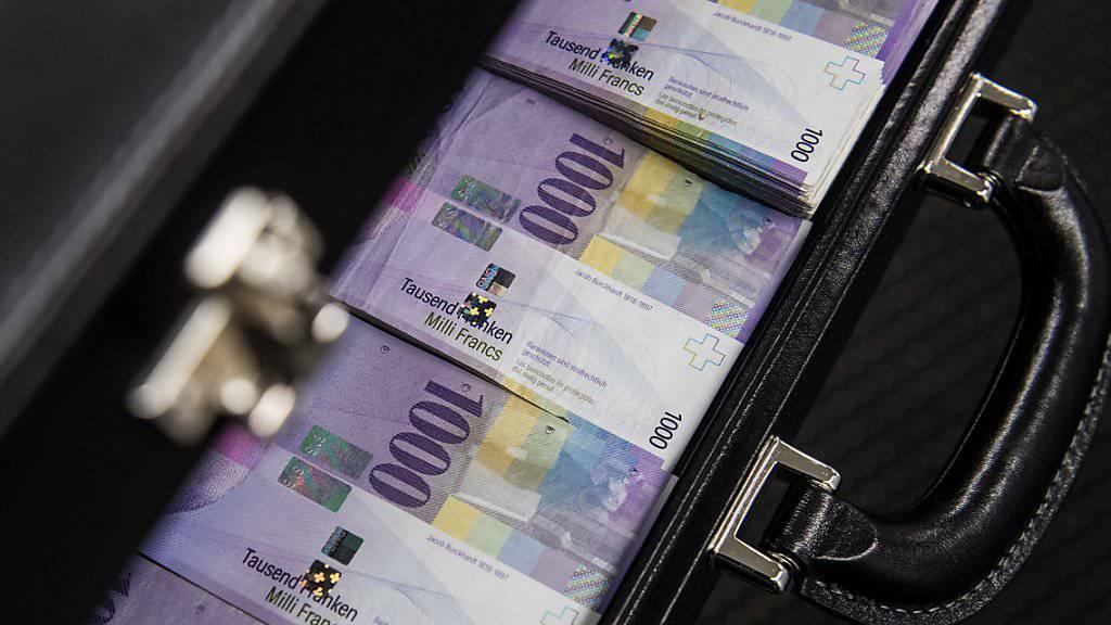 Grosse Banknoten stehen in der Kritik, weil Kriminelle sie dazu benutzten, illegale Einkünfte zu verschleiern oder Geld zu waschen. In der Schweiz sieht die SNB aber diesbezüglich kein besonderes Risiko.