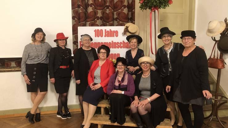 Vorstand Frauengemeinschaft Oensingen