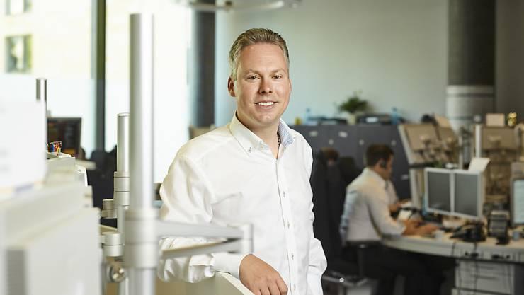 Leonteq-Mitbegründer und -Chef Jan Schoch räumt für 2016 Fehler ein und bezeichnet 2017 als Übergangsjahr. (Archiv)