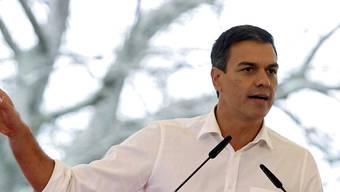 Seine Tage als Parteichef der spanischen Sozialisten könnten bald gezählt sein: Pedro Sánchez. (Archiv)