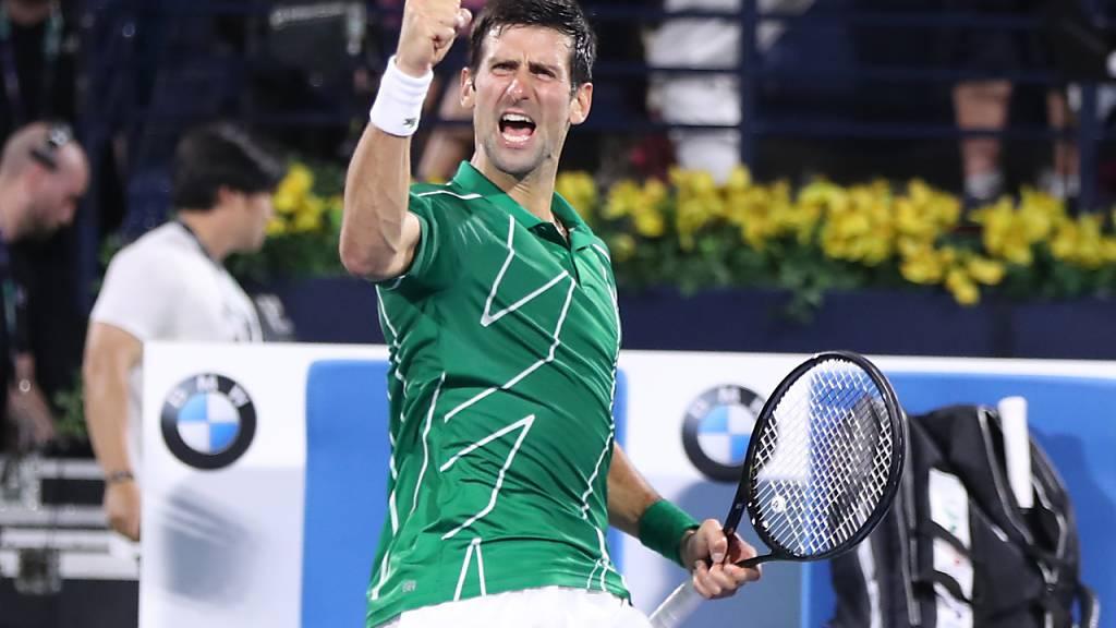 Wird Djokovic kampflos die Nummer 1 aller Nummern 1?