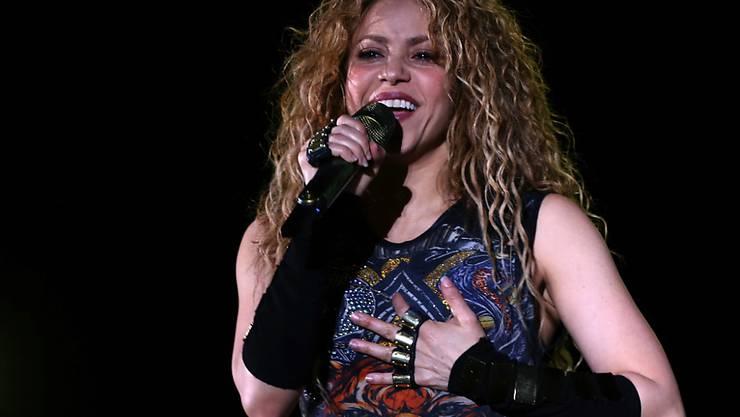 Shakira hat am Freitag erneut ein Konzert im Libanon, dem Geburtsort ihrer Grossmutter, gegeben.