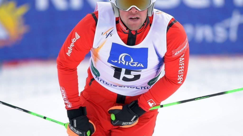 Marc Bischofberger erreicht im Montafon seinen zweiten Podestplatz der Karriere