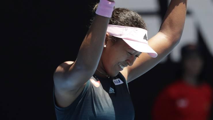 Nach dem US Open auch in Melbourne erfolgreich unterwegs: die Japanerin Naomi Osaka