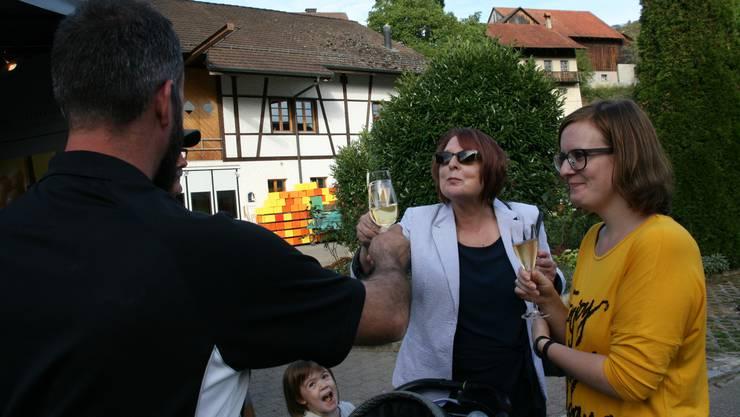 Kein Weinfest in Tegerfelden.