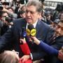 Die Justiz hatte zehn Tage Untersuchungshaft für Ex-Präsident García angeordnet - im Rahmen der Ermittlungen im Korruptionsskandal um den brasilianischen Baukonzern Odebrecht. García bestritt, Odebrecht-Geld angenommen zu haben. Bei seiner Verhaftung schoss er sich in den Kopf. (Bild von 2017)