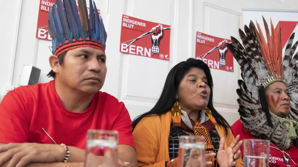 Indigene kämpfen gegen Freihandelsabkommen mit Schweiz