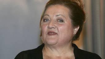 Marianne Sägebrecht, hier im Dezember 2005, begleitet Menschen in den Tod und weiss auch, wie sie selber sterben will. (Archiv)