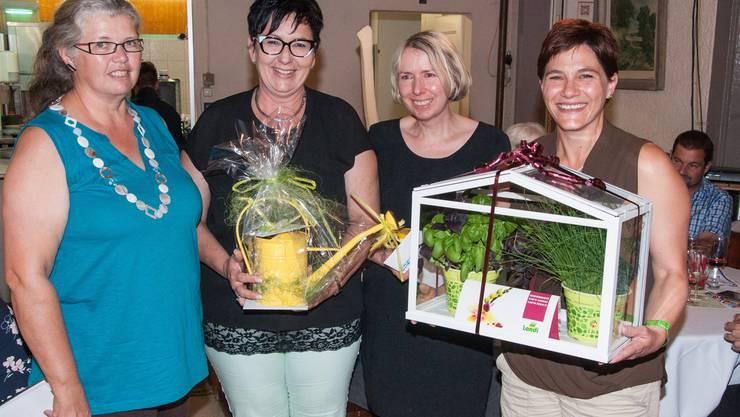 Lydia Spuler, Marianne Graf, Doris Mazidi, Marie-Theres Fischer