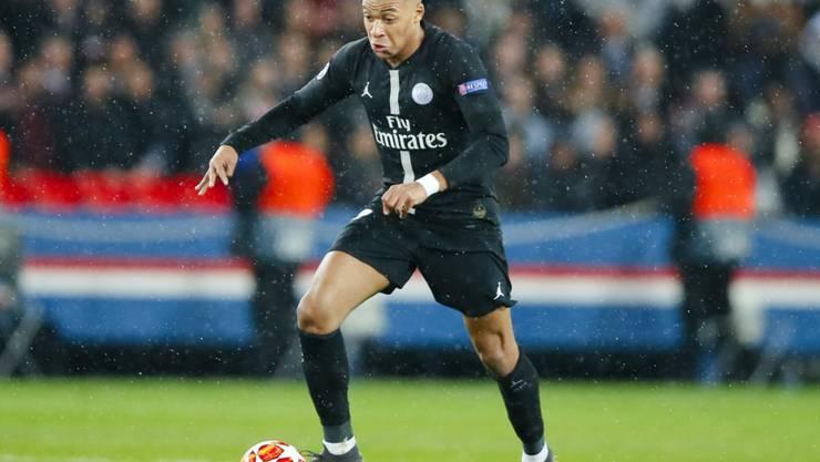 Kylian Mbappé trifft zum 25. Mal in der laufenden Ligue-1-Saison