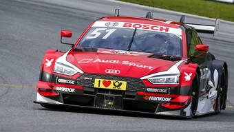 Aktuell kaum zu schlagen: DTM-Fahrer Nico Müller im Audi. (Archivbild)