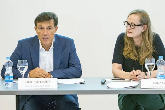 Josef Helfenstein und Sonja Kuhn