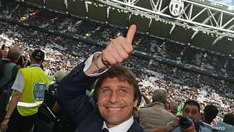 Daumen hoch für die Juve: Antonio Conte bleibt dem Meister treu