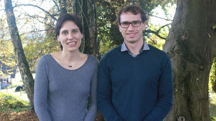 Sabine Tschudin und Raphael Ditzler