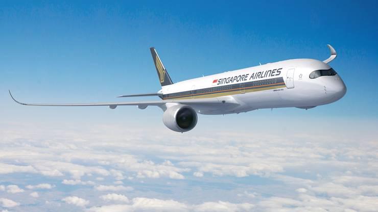 Damit wird die Ultra Langstrecke geflogen. Der neue Airbus A350-900 ULR (Ultra Long-Rage)