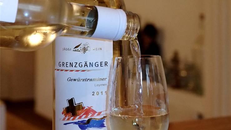 Der «Jäggi-Wein» aus dem Baselbiet findet derzeit guten Absatz. Kenneth Nars