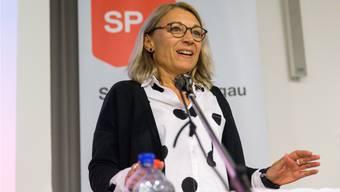 SP-Nationalrätin Yvonne Feri überlegt sich eine Kandidatur für den Regierungsrat.