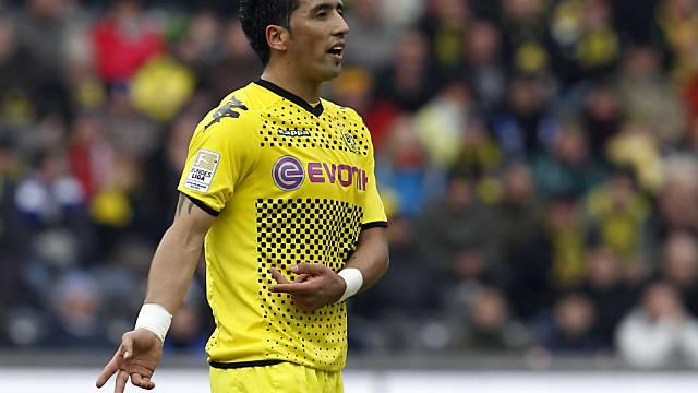 Lucas Barrios bringt Dortmund auf die Siegstrasse.