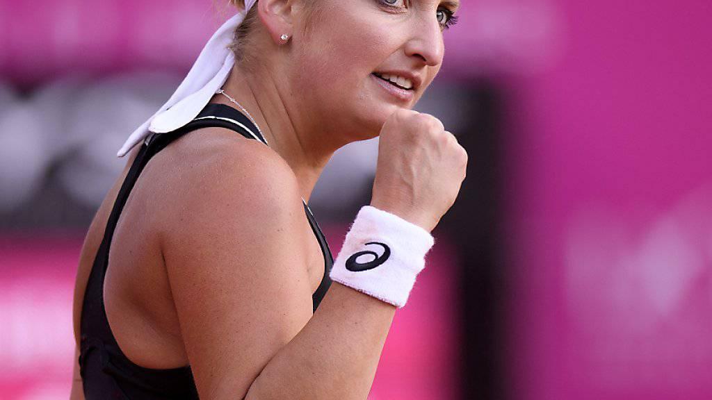 Timea Bacsinszky darf sich auf den Final in Biarritz freuen