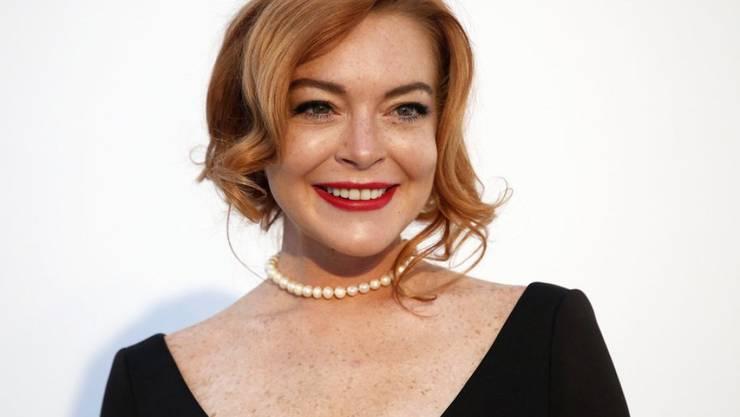 In ihrer Wahlheimat Dubai fühlt sich US-Schauspielerin Lindsay Lohan so sicher, dass sie nicht einmal die Türe zu ihrem Penthouse abschliesst. (Archivbild)