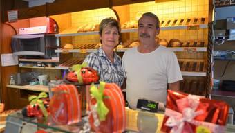 Käthy und Herbert Fischer, Mühlibeck, Boswil, eröffnen ihre Bäckerei nach den Sommerferien nicht mehr. Eddy Schambron