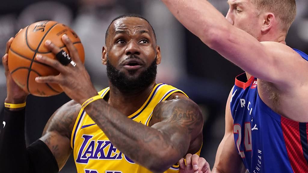 Zweite Niederlage in Folge der Los Angeles Lakers
